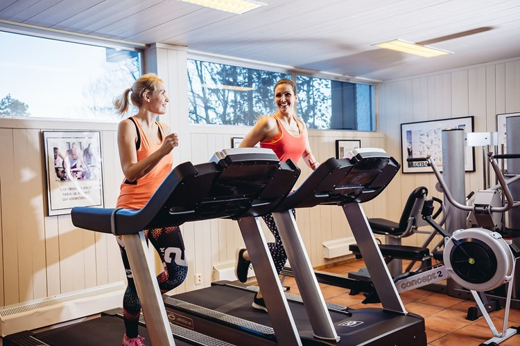 Enjoy the well equipped fitness room at Bardøla.